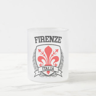 Firenze Frosted Glass Coffee Mug