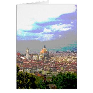 Firenze Greeting Card