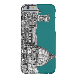 Firenze in turquoise barely there iPhone 6 case