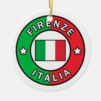 Firenze Italia Ceramic Ornament