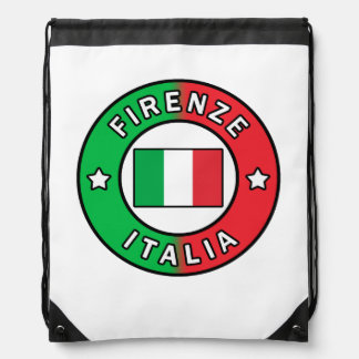 Firenze Italia Drawstring Bag