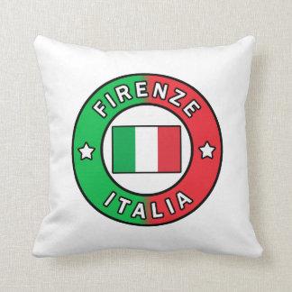 Firenze Italia Throw Pillow