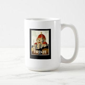 FIRENZE CLASSIC WHITE COFFEE MUG