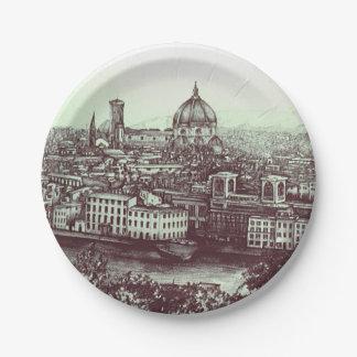 Firenze Paper Plate