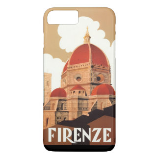 Firenze Poster iPhone 7 Plus Barely There Case