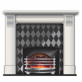 fireplace acrylic cut out