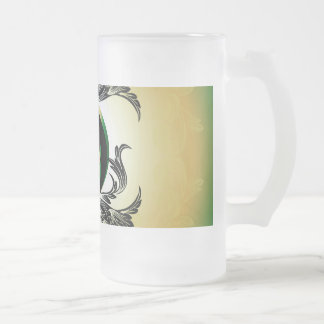 Fireproof rune frosted beer mugs
