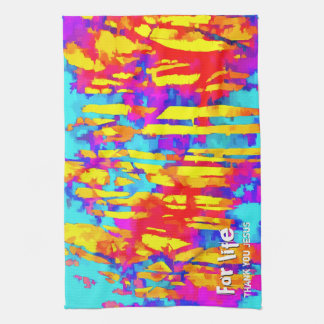 Fires And Passion One Kitchen Towel