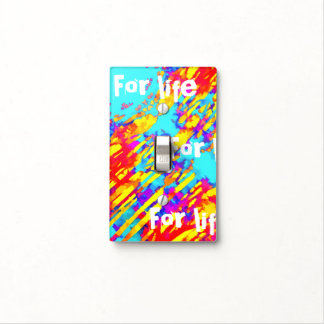 Fires And Passion Two Light Switch Cover
