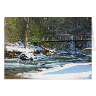 Fires Creek Bridge Card