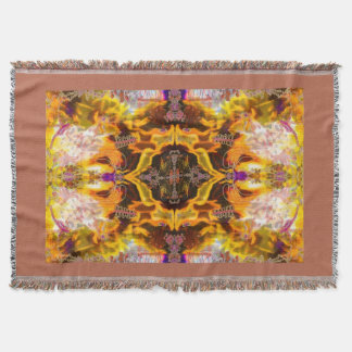 Fires of Change Alchemy Woven Blanket by Deprise Throw