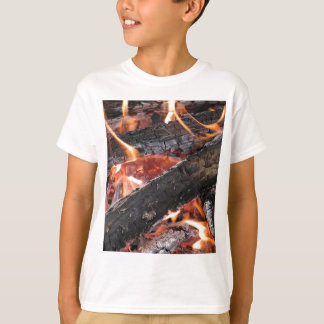 Fires Wood Flames Burning T-Shirt