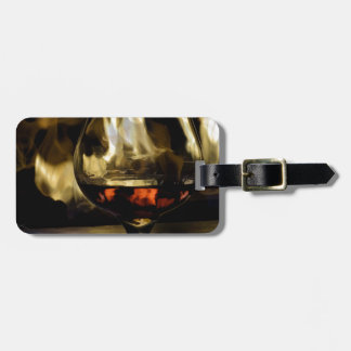 Fireside Luggage Tag