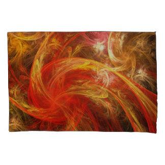 Firestorm Nova Abstract Art Pillowcase