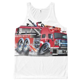 firetruck burnout All-Over-Print tank top