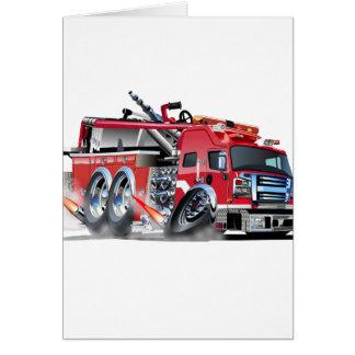 firetruck burnout card