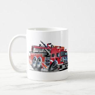 firetruck burnout coffee mug