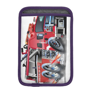 firetruck burnout iPad mini sleeve