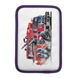 firetruck burnout iPad mini sleeve