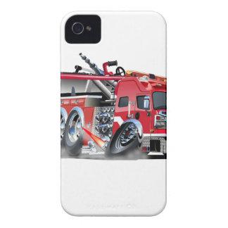 firetruck burnout iPhone 4 Case-Mate cases
