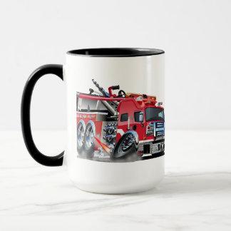 firetruck burnout mug