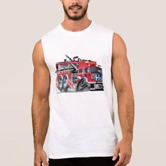 firetruck burnout sleeveless shirt
