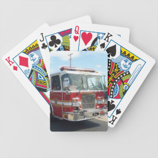 FIRETRUCK PLAYING CARDS