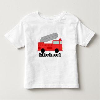 Firetruck T Shirt Personalizable Template