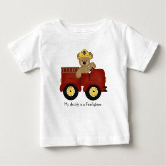 Firetruck Teddy T-Shirt