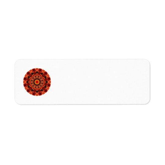 Firewalk Mandala, Abstract Spiritual Quest
