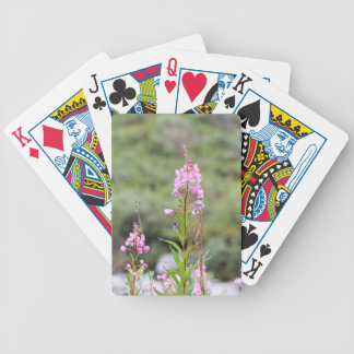 Fireweed Bicycle Playing Cards