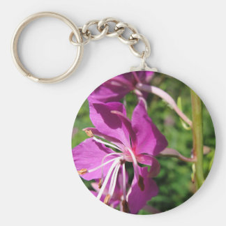 Fireweed From an Alaskan Summer Keychain