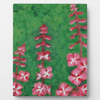 fireweed plaque