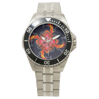 Firewheel Classic Stainless Steel Wrist Watch