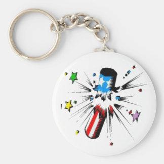 firework design keychain