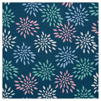Firework Flowers Fabric