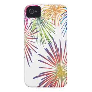 Firework Fun Colorful Modern Beautiful iPhone 4 Case
