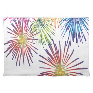 Firework Fun Colorful Modern Beautiful Placemat