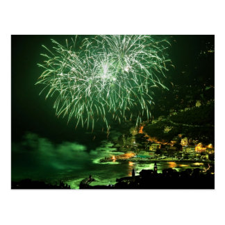 Firework in Recco Postcard