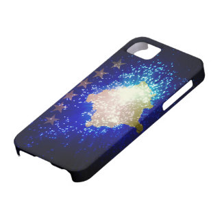 Firework; Kosovo Flag iPhone 5 Cases