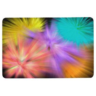 Fireworks #1 floor mat