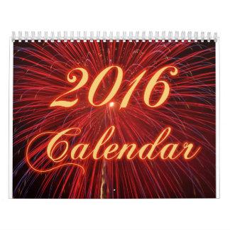 Fireworks 2016 Calendar