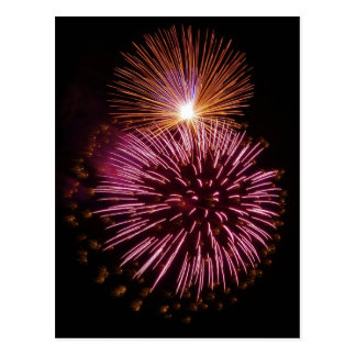 Fireworks 5 postcard