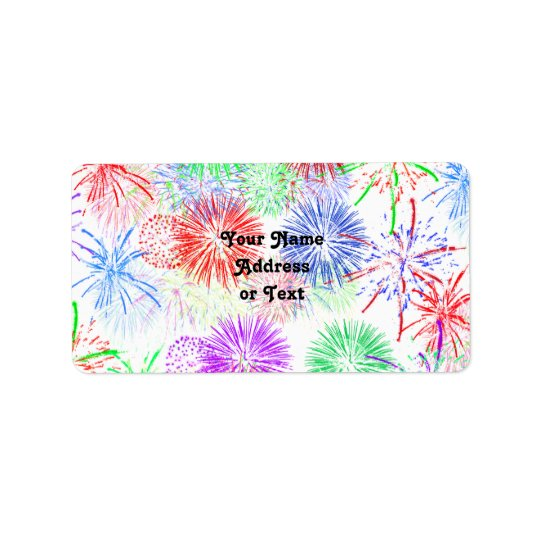 Fireworks (Add background colour)
