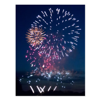 Fireworks ahoy! postcard