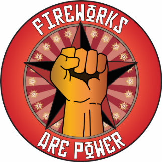 Fireworks Are Power Photo Cut Outs