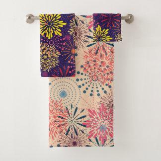 Fireworks Bath Towel Set