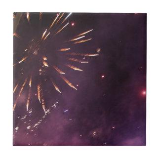 Fireworks Ceramic Tile