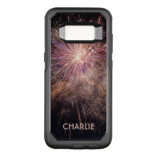 Fireworks custom monogram phone cases