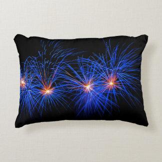 Fireworks Decorative Pillow
